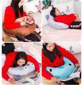 喂奶枕 U型多功能哺乳枕喂奶枕孕婦學生辦公枕護腰抱枕嬰兒靠墊學坐 珍妮寶貝