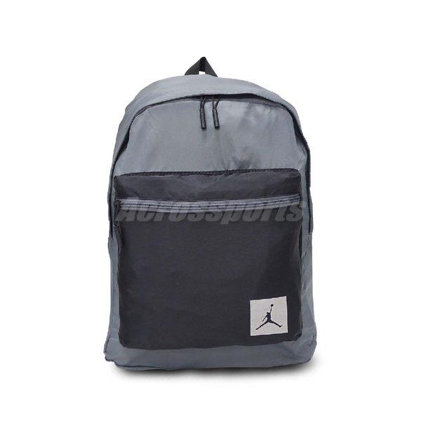 a5a08aa4de7d ... Nike 後背包Jordan Skyline Flight Mini Pack Packable Backpack 可收納灰黑男女款 ...