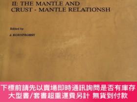 二手書博民逛書店KIMBERLITES罕見II:THE MANTLE AND CRUST-MANTLE RELATIONSH《地幔