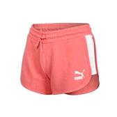 PUMA 女流行系列T7短褲(歐規 三分褲 慢跑 路跑 圈毛 針織 真理褲  ≡排汗專家≡