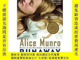 二手書博民逛書店逃離罕見Runaway 英文原版 Alice Munro 諾貝爾