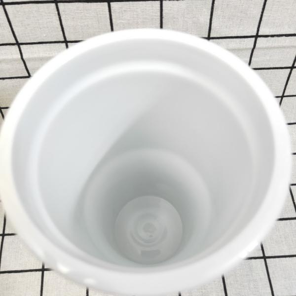 艾樂簡約真陶瓷激凍杯 800ml 陶瓷冰壩杯 保冷杯 保溫杯 冰壩杯 吸管杯