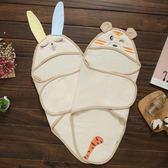 新生兒睡袋嬰兒抱被襁褓薄款包巾防驚跳包被寶寶防踢被0-3月【中秋節單品八折】