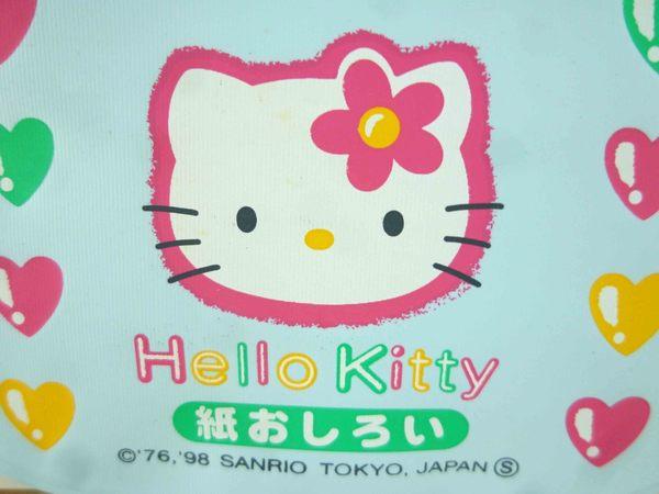 【震撼精品百貨】Hello Kitty 凱蒂貓-KITTY吸油面紙-藍愛心圖案