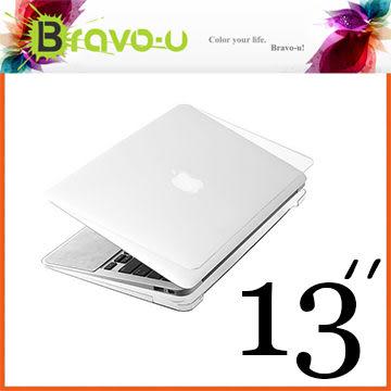 Bravo-u APPLE MacBook Pro 13吋 Retina 水晶透明保護硬殼