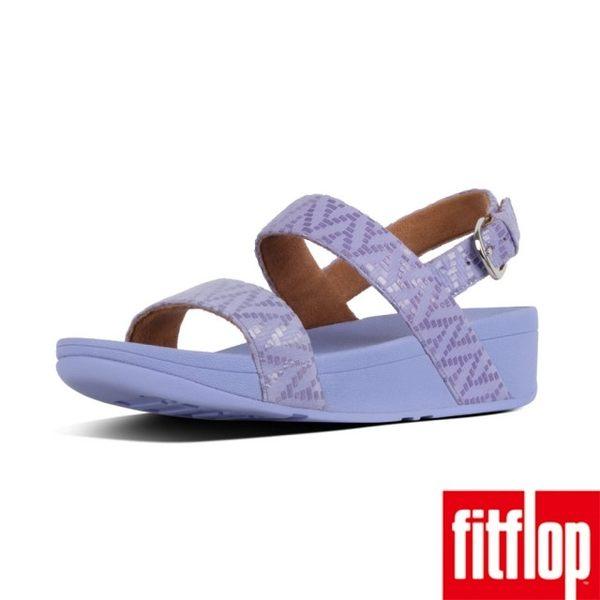 【FitFlop】LOTTIE CHEVRON-SUEDE BACK-STRAP SANDALS(薰衣草紫)舊換新現折$1000