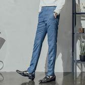 男 紳士/商務/西裝褲/ L AME CHIC 交叉色細格紋西裝褲【FBT100502】