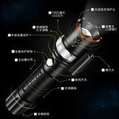 LED強光激光手電筒可充電超亮多功能遠射5000氙氣燈特種兵1000wlh246『男人範』