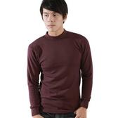 【源之氣】竹炭男立領保暖衣/紫紅(2入) RM-10096