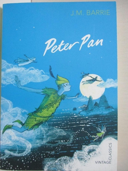 【書寶二手書T1/原文小說_H6Y】Peter Pan (Vintage Children s Classics)_James