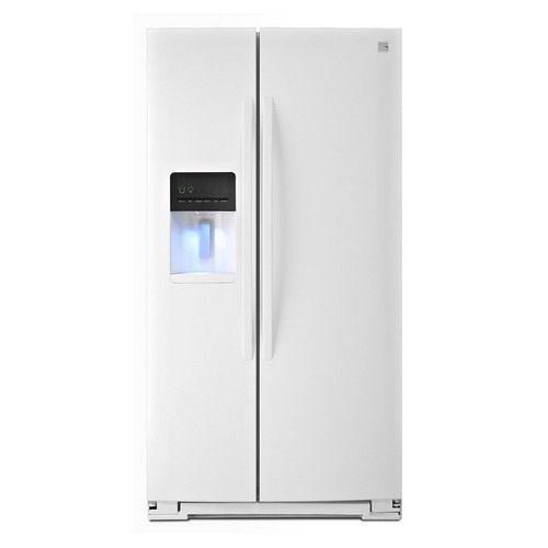 Sears 美國熙爾仕楷模 ~ 豪華型 頂級對開門製冰冰箱(亮白色)【型號:51132】 ☆24期0利率☆↘