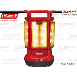【速捷戶外】【美國Coleman】CM-3183 CPX6 四合一LED營燈/電子燈 可拆開使用成四組