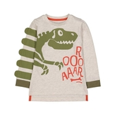 mothercare 恐龍化石薄長袖上衣-恐龍系列(M0QC227)3A、6A