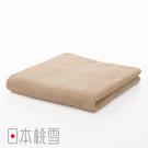 日本桃雪居家毛巾(淺咖啡色) 鈴木太太