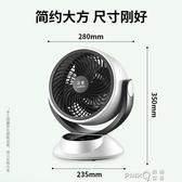 洛堡空氣循環扇電風扇渦輪對流台式風扇家用遙控鴻運扇空調流通扇 (橙子精品)