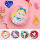 韓版可愛棒棒糖卡通女孩小圓包零錢包皮夾長夾非中夾短夾手拿包手機包-共4色-B290049-FuFu