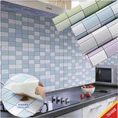 廚房壁紙廚房防油貼紙耐高溫櫥櫃灶台桌面浴室瓷磚自粘墻紙壁紙防水墻貼紙Igo 摩可美家