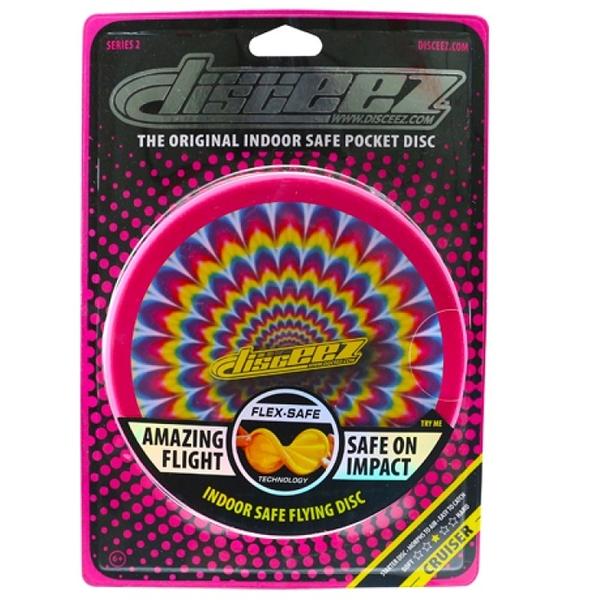 DISCEEZ 同行飛碟 室內飛盤 S2-6 TIPPY 迷幻色彩