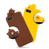 【現貨】iStyle iPhone 7/8 plus 5.5吋 熊大莎莉愛睏手機殼