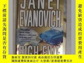 二手書博民逛書店《罕見High Five 》Janet Evanovich 著