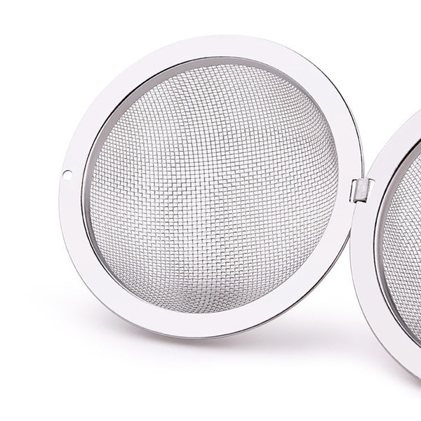 PUSH!廚房餐具用品304不銹鋼滷料煲湯茶葉過濾器調味滷包球大號2入D72