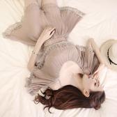 超殺29折 韓系名媛優雅雪紡蕾絲壓褶連身褲套裝短袖褲裝