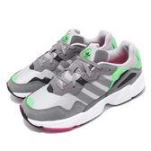 adidas 老爹鞋 Yung-96 灰 粉紅 網布鞋面 復古 老爺鞋 爸爸鞋 運動鞋 男鞋【PUMP306】 F35020