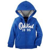OSHKOSH平行輸入童裝 男寶寶 純棉連帽薄外套 藍【OS21475318】