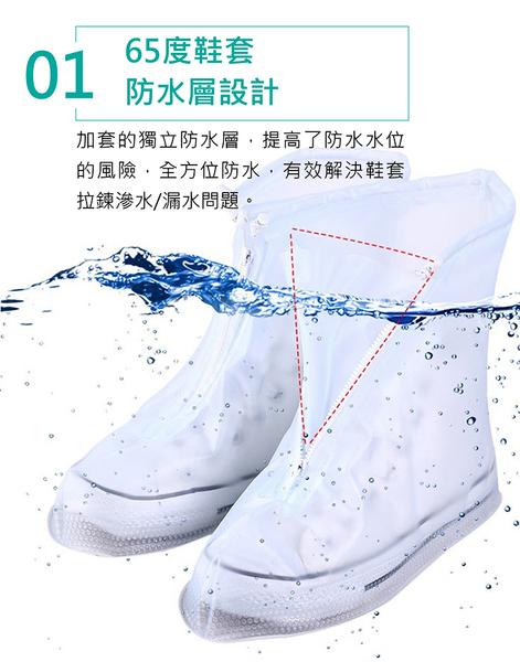 加厚雨鞋套 【免運!防水鞋套】雨天鞋套 下雨鞋套 防滑 防水鞋 輕便防滑 防水 雨鞋 雨衣