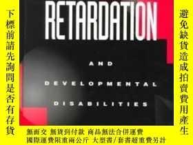 二手書博民逛書店Mental罕見Retardation And Developmental DisabilitiesY3077