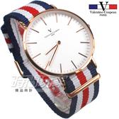 valentino coupeau PARIS 范倫鐵諾 異國風情 英倫情人 指針錶 防水手錶 中性錶 女錶 男錶 V61349BWR5玫
