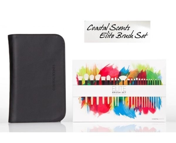 Coastal Scents Elite Brush Set Black  24件化妝刷具組