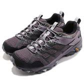 Merrell 戶外鞋 Moab FST 2 GTX 紫 黑 Gore-Tex 防水 透氣 越野 休閒鞋 運動鞋 女鞋【PUMP306】 ML77430