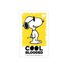 SNOOPY《Cool Blooded》迷你一卡通