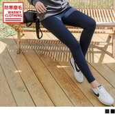 《KS0475》台灣製造~腰鬆緊內磨毛彈力修身運動長褲 OrangeBear