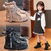女童鞋馬丁靴2020新款英倫風冬季二棉短靴兒童秋冬款棉鞋加絨靴子