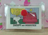 【震撼  】史奴比Peanuts Snoopy 便條_ 附袋子