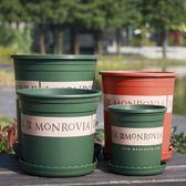 環球加侖創意樹脂塑料花盆 陽臺種花種菜多肉栽綠蘿園藝花盆 挪威森林