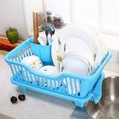 碗櫃 大號塑料碗柜收納箱碗架筷架瀝水籃廚房瀝水架碗碟架置物架 【晶彩生活】