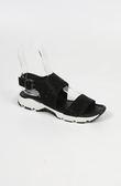 ALL BLACK  造型涼鞋 (黑)