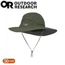 【Outdoor Research 美國 抗UV透氣大盤帽《軍綠》】243441/防曬遮陽/登山健行