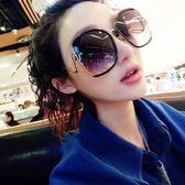 加大框圓臉顯瘦偏光太陽眼鏡女明星新款韓版街拍方臉個性墨鏡 創想數位