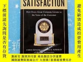 二手書博民逛書店SATISFACTION罕見how every great company listens to the voic