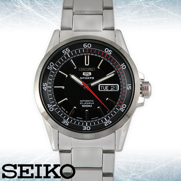 SEIKO 精工手錶專賣店 SNZH19J1 男錶 機械錶 不鏽鋼錶帶 日製 強化玻璃鏡面 100米防水 日期星期