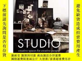 二手書博民逛書店Studio:罕見Creative Spaces for Creative People 辦公室內設計圖書Y3