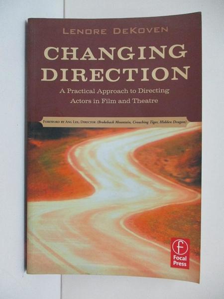【書寶二手書T1/影視_D9W】Changing Direction: A Practical Approach to Directing…