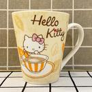【震撼精品百貨】Hello Kitty 凱蒂貓~三麗鷗KITTY日本馬克杯-奶茶#38017