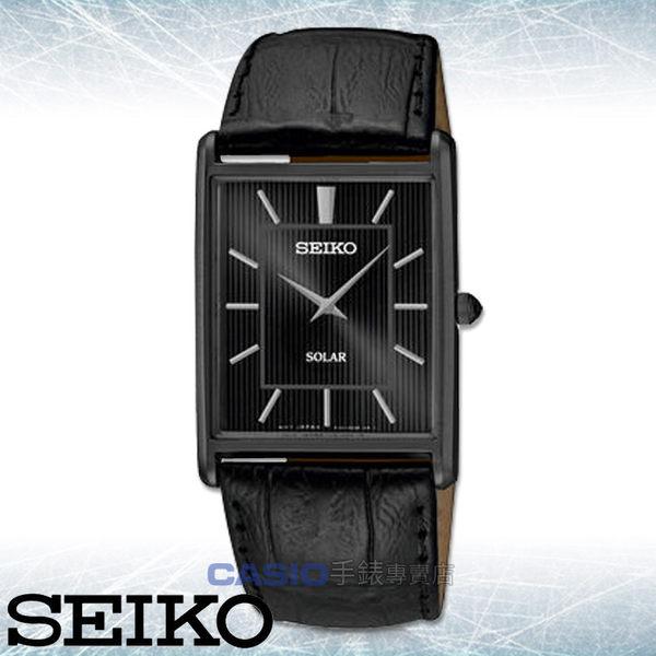 SEIKO 精工 手錶 專賣店  SUP881P1  男錶 石英錶 皮革錶帶 礦物玻璃鏡面 太陽能 防水 全新品