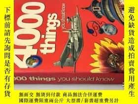 二手書博民逛書店4000罕見things you should know 你應該知道4000件事Y20113 John Far