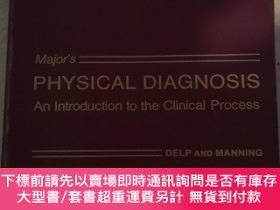 二手書博民逛書店Major`s罕見PHYSICAL DIAGNOSIS An Introduction to the Clinic